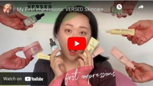 versed skincare review